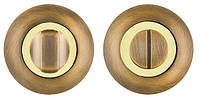 Накладка WC-фиксатор FUARO BK6 RM AB/GP-7 бронза/золото