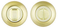 Накладка WC-фиксатор FUARO BK6 RM SG/GP-4 матовое золото/золото