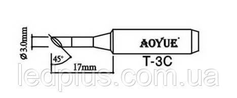 Жало паяльное Aoyue T-3С