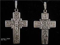 Большой серебряный крест