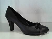 Туфли женские черные (Польша), р. 36.37.38.39.