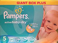 Памперсы для детей PAMPERS ACTIV BABY 5-87шт. Giant Box