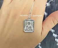 Ладанка Святой Николай Чудотворец из серебра