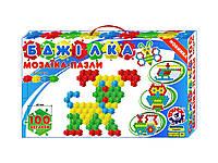 Мозаика-пазлы Пчелка ТехноК 100 деталей