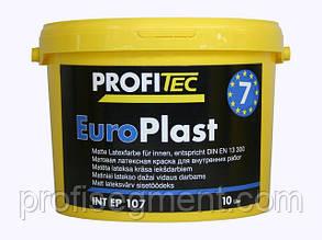 Шелковисто-матовая латексная краска Europlast 7 DE 107, 10л