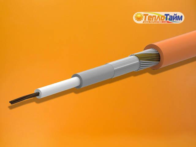 Нагрівальний кабель Ratey одножильний (1,05 кВт; 7.1 кв.м), (нагревательный одножильный кабель)