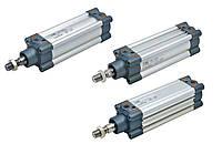 Пневмоцилиндры промышленные стандарт ISO 15552