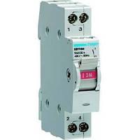 Выключатель нагрузки I-0 230В~/16А с индикацией, 1-полюсный, 1м SB116M