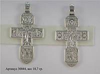 Большой серебряный крест мужской