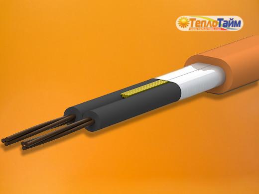 Двожильний гріючий кабель Ratey 8,0 кв.м (1400 Вт), (двужильный нагревательный кабель Ратей)