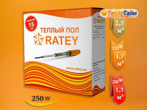 Нагрівальні кабелі Ratey