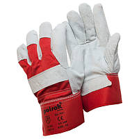 Перчатки комбинированные спилок+х/б SS 1021