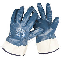 Перчатки покрытые нитрилом, маслобензостойкие Stark