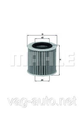 Фильтр масляный Skoda Fabia 6Y - 1.2 л