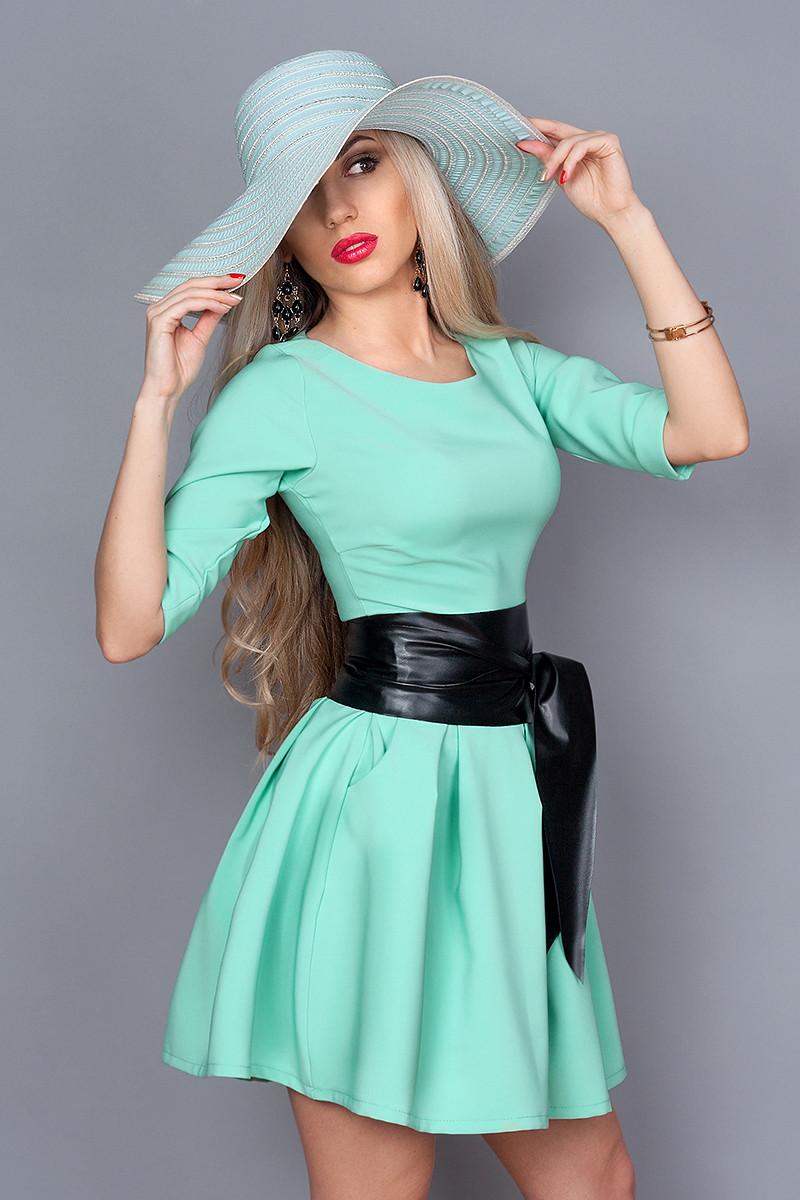 Платье  мод 373-14 размер 48 мята