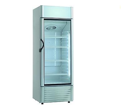 Холодильный шкаф стелянная дверь Scan KK 381