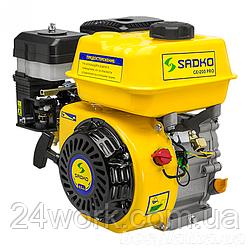 Двигатель бензиновый SADKO GE-200 Pro (воздушный фильтр в масляной ванне) (6.5 л.с.)