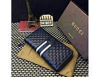 Мужской кошелек Gucci (138032) blue