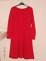Красное платье клиньями