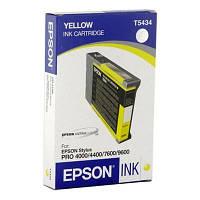 Картридж EPSON St Pro 4000/4400/7600/9600 yellow (C13T543400)