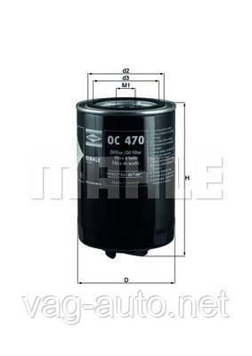 Фильтр масляный Skoda Superb 1.8T (AWT)