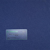 Рулонные шторы Одесса Ткань Шёлк Alu Блэк-аут Тёмно-синий