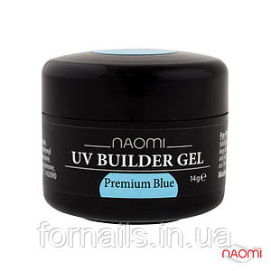 Строительный Гель Naomi UV Builder Gel Premium Blue, 14г