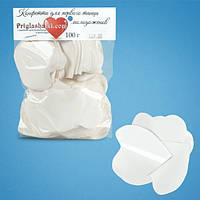 Конфетти сердца белые (4,5 см, 100 г)