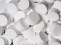 Соль таблетированная в мешках по 25кг, производства Словянской соледобывающей компании