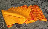 Шарф валяный Оранжевое чудо, фото 3