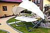 Гамак садовый с козырьком Luxury Hamak, 2 местный , фото 3
