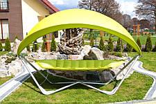 Гамак садовый с козырьком Luxury Hamak, 2 местный , фото 2