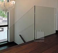 Стеклянные ограждения и перила для лестниц, пандусов, атриумов и балконов
