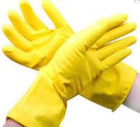 Перчатки резиновые хоз.