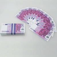 Конфетти (пачка 500 евро мини)