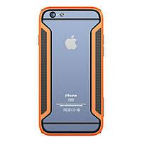 Чехол бампер Nillkin Armor-Border Series для Apple iPhone 6 6S 4.7 оранжевый