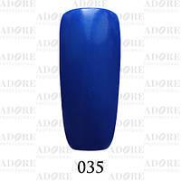 Гель-лак Adore Professional № 035 (ультрамарин с шиммером), 9 мл ADR 035/96