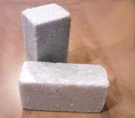 Соль брикетированная кормовая, лизунец