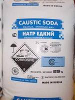 Сода каустическая в мешках по 25 кг Россия, фото 1