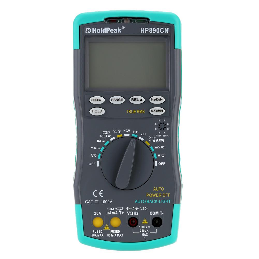 Цифровой мульиметр HoldPeak HP-890CN RMS