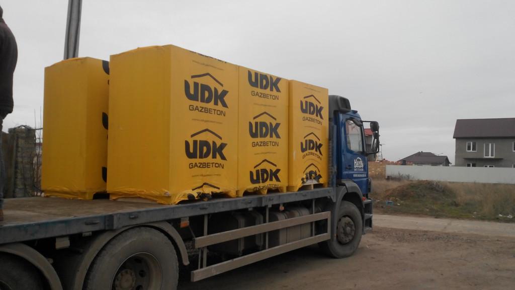 Поставка газобетонных блоков ЮДК