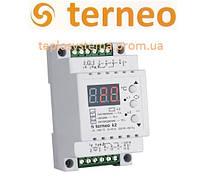 Двухканальный терморегулятор Terneo k2 (на DIN-рейку), Украина