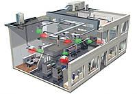 Первоклассная вентиляция и  кондиционирование офисных помещений