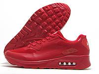 Кроссовки мужские Nike Air Max красные (найк аир макс)