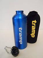 Бутылка алюминиевая в чехле из неопрена 0,6 л Tramp TRC-033