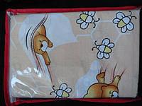 Детское постельное белье из хлопка для мальчика и девочки