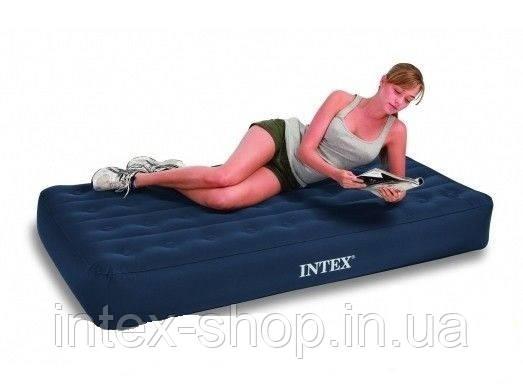 Надувная матрас-кровать Intex Outdoor Super-Tough AirBed 68724 (ортопедическая) (99х191х22), фото 2