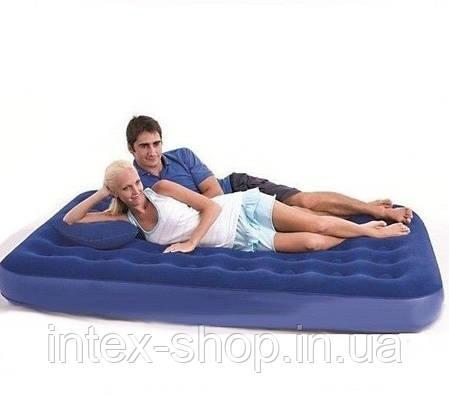 Двуспальный надувной матрас Bestway 67374 (203х152х22 см), фото 2