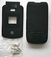 Корпус для телефона Motorola V3X, High Copy, full, чёрный