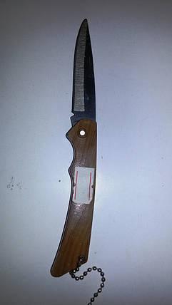 Нож раскладной деревянная ручка, фото 2